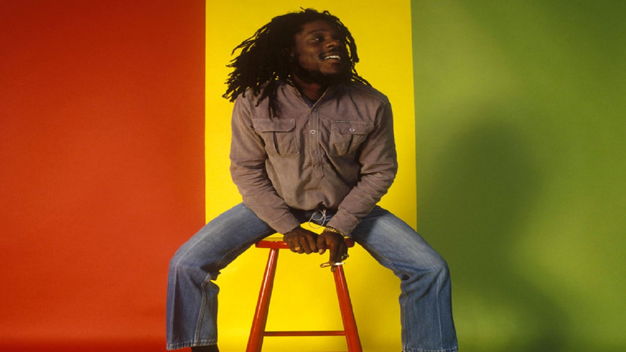 A young 'Crown Prince of Reggae', Dennis Brown