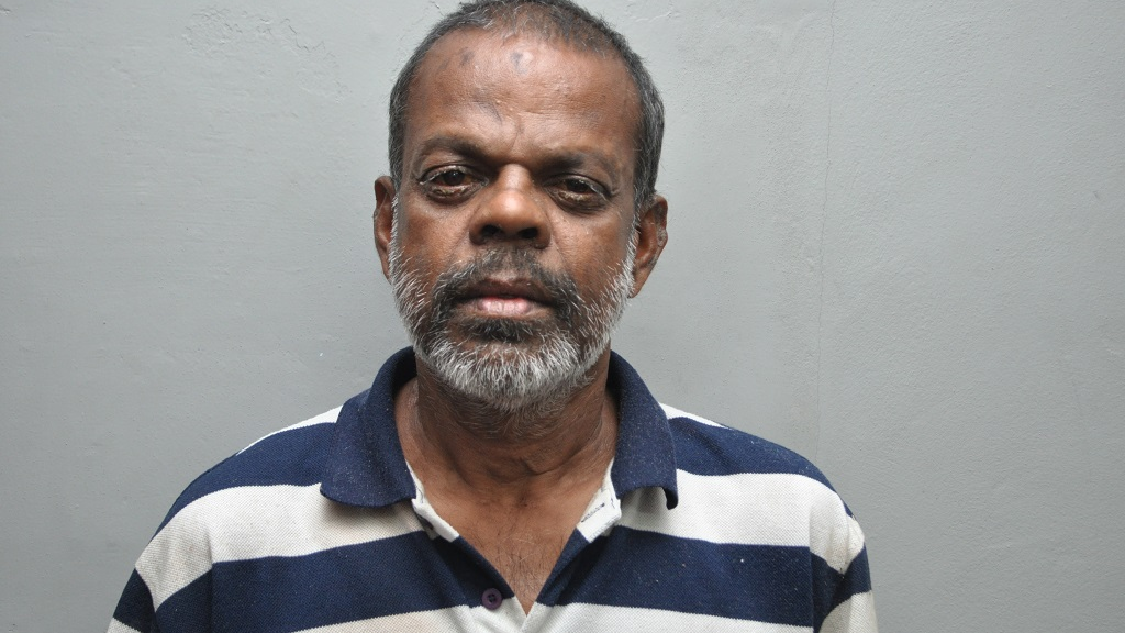 Photo: Bickram Balkissoon was charged with the murder of Neathasingh Ramsingh, who was stabbed to death on February 4, 2019. Photo courtesy the TTPS.