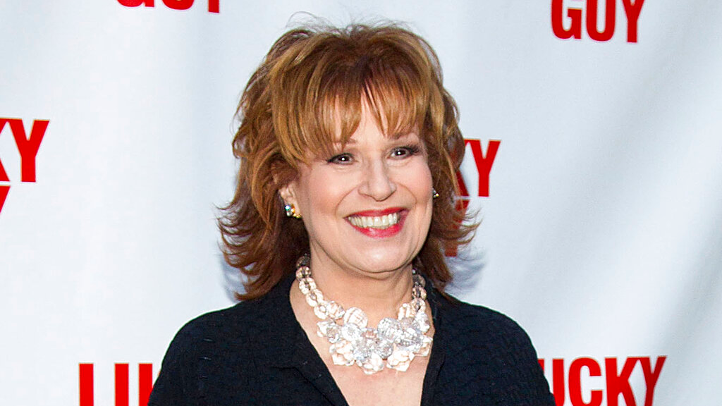 "In this April 1, 2013 file photo, TV personality Joy Behar arrives at the ""Lucky Guy"" Opening Night in New York. (Photo by Dario Cantatore/Invision/AP, File)"