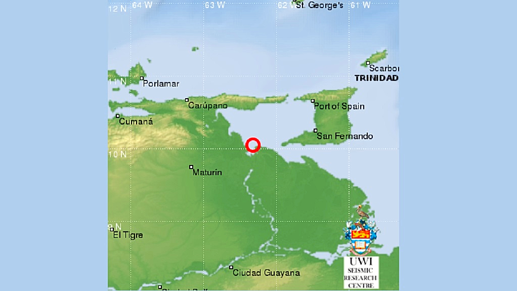 A 4.8 earthquake struck Venezuela's coast, mere miles from Trinidad and Tobago on February 10, 2019.