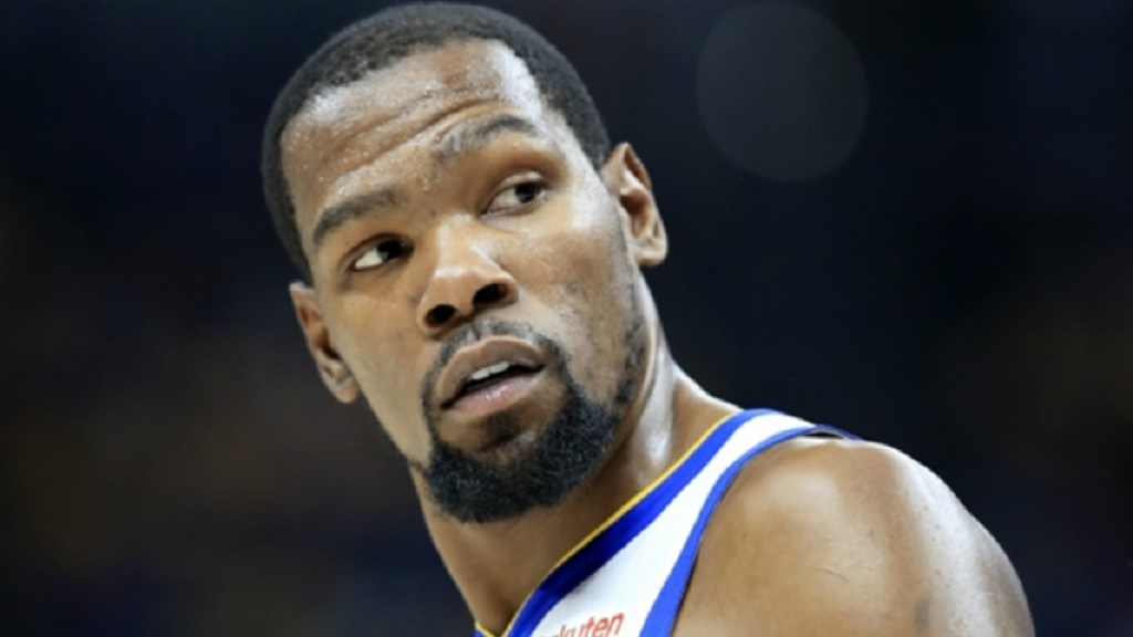 Kevin Durant of the Golden State Warriors.
