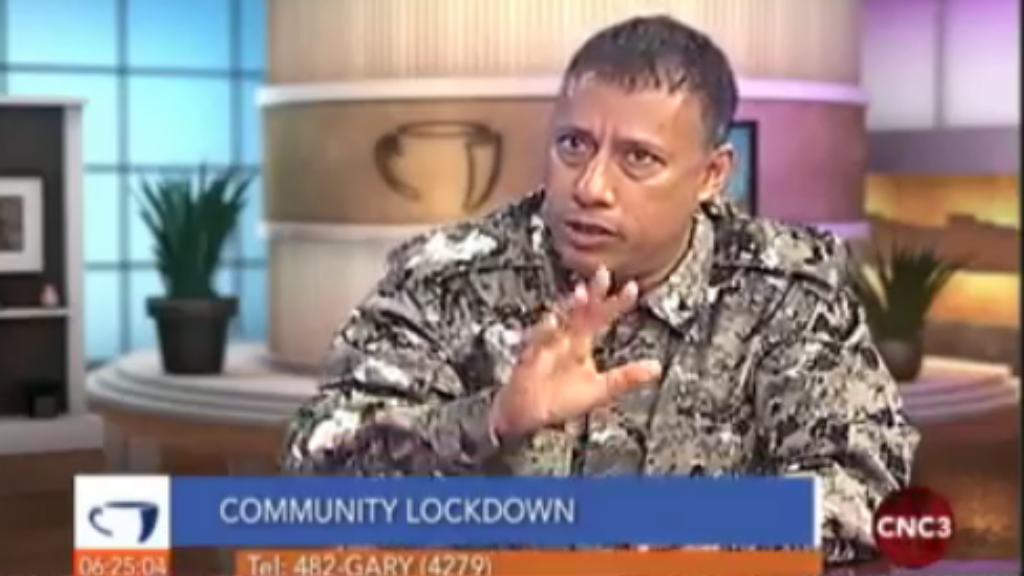 Police Commissioner Gary Griffith speaks on CNC3's the Morning Brew.