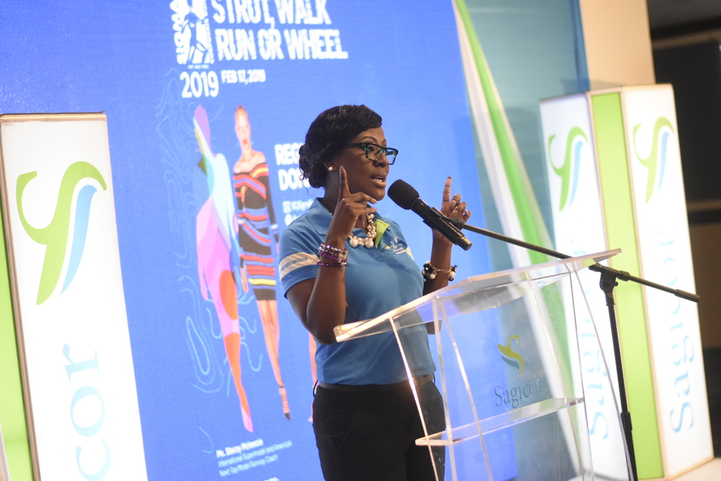Sigma Team Lead and Assistant Vice President, Sagicor Jamaica Group Marketing, Alysia White, is encouraging the public to donate using the platform.