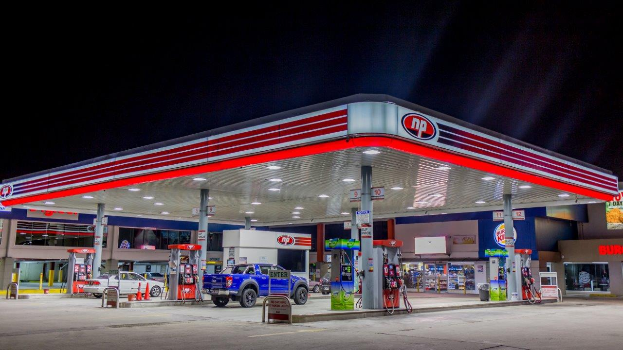 NP Gas Station in Tacarigua