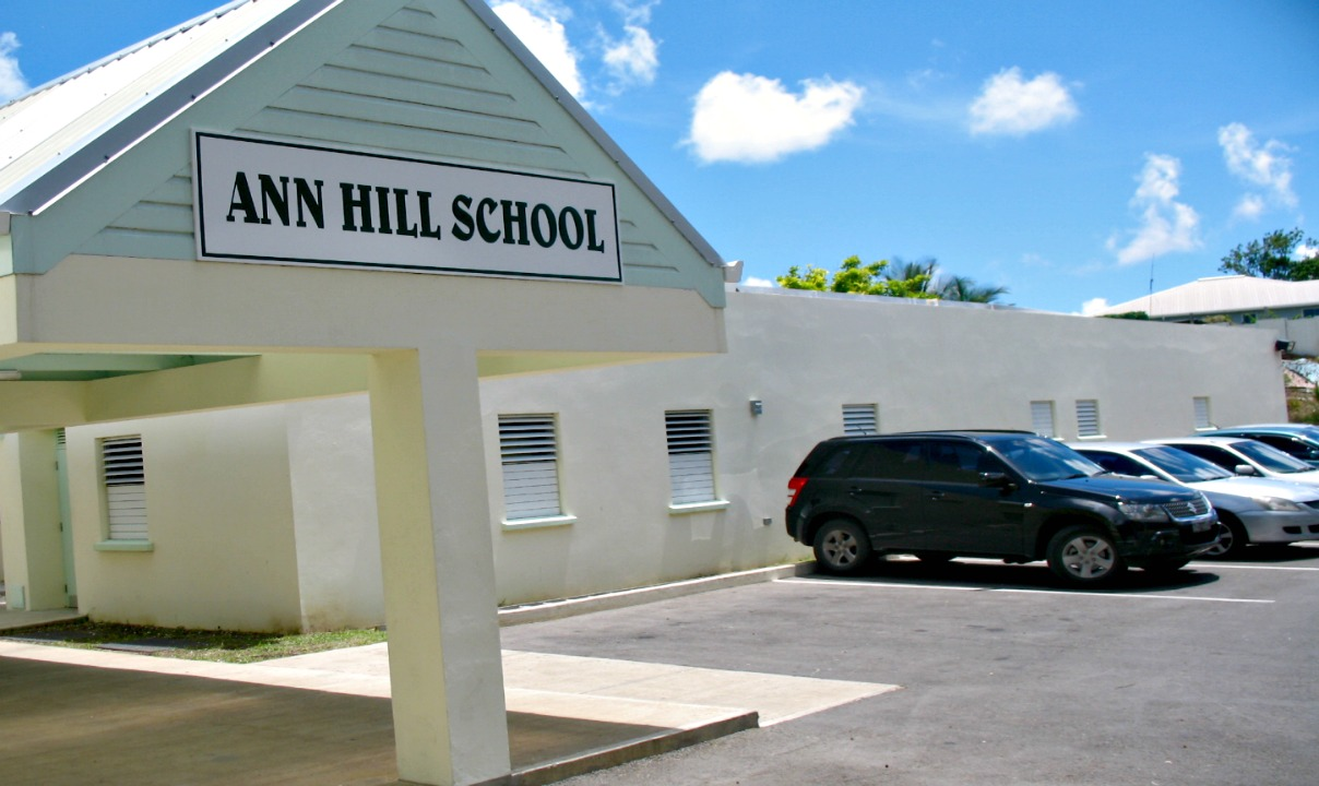 FILE - Ann Hill School located in St. Michael.