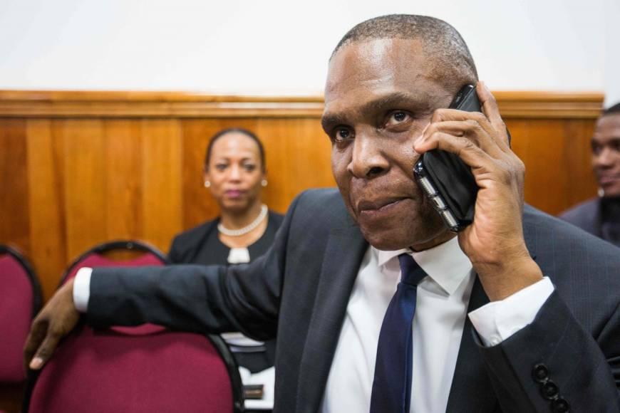 """Haïti : """"Le PM n'entend pas démissionner"""", rassure son porte-parole / Photo: AFP"""