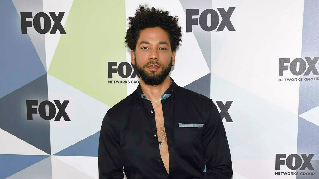 "In this May 14, 2018 file photo, Jussie Smollett, a cast member in the TV series ""Empire,"" attends the Fox Networks Group 2018 programming presentation after party in New York. (Photo by Evan Agostini/Invision/AP, File)"