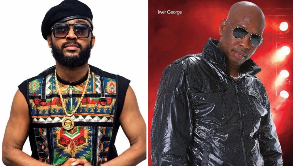 Machel Montano (Left) and Iwer George (Right)