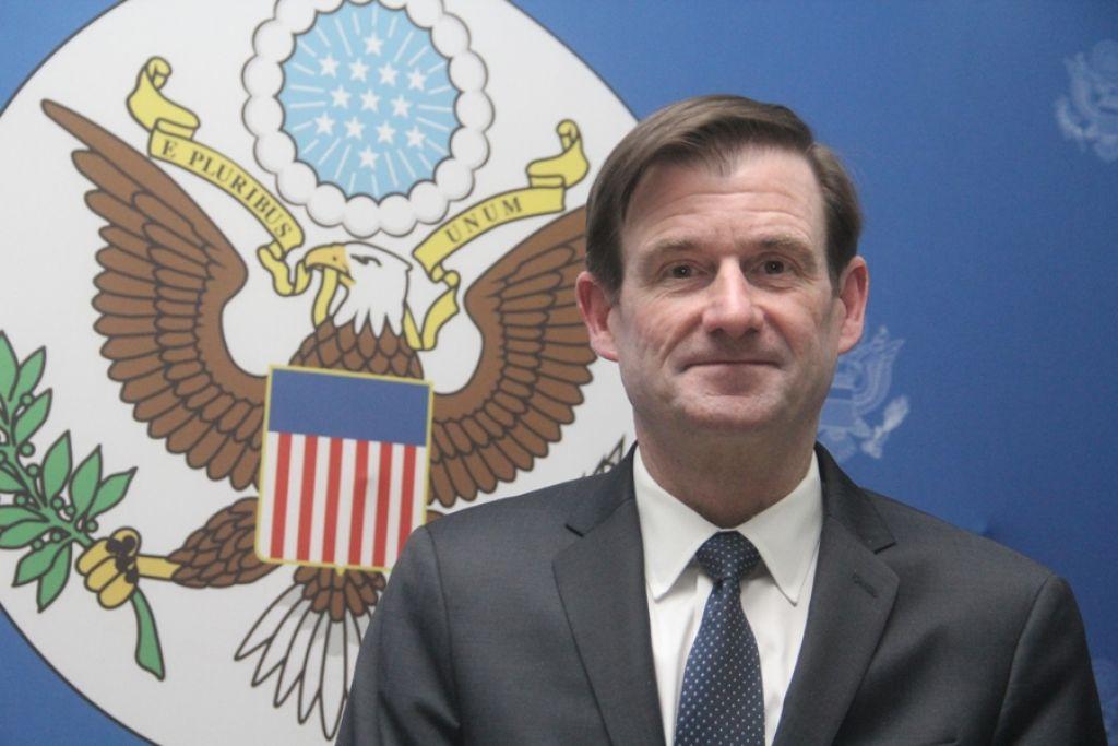 Le sous-secrétaire d'Etat américain aux Affaires Politiques, David Hale