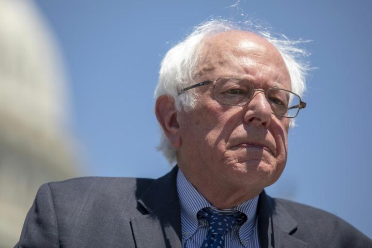 Bernie Sanders, lors de sa campagne à la présidentielle 2016, le 27 mai 2016 à Los Angeles en Californie