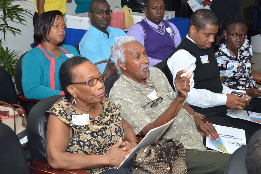 Members in attendance at Member Advisory Councils workshop held in Mandeville, Manchester in January.