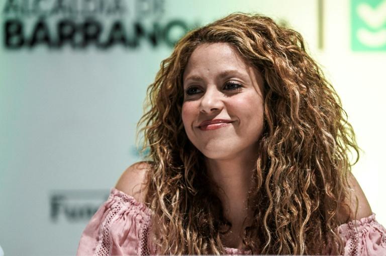 La chanteuse colombienne Shakira le 2 novembre 2018 à Barranquilla, en Colombie