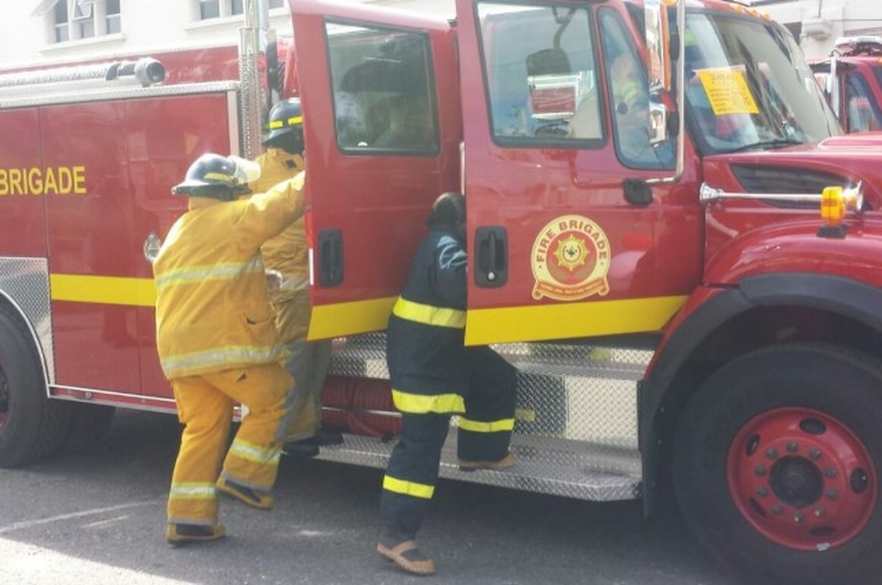 File photo of fire personnel responding to an emergency.