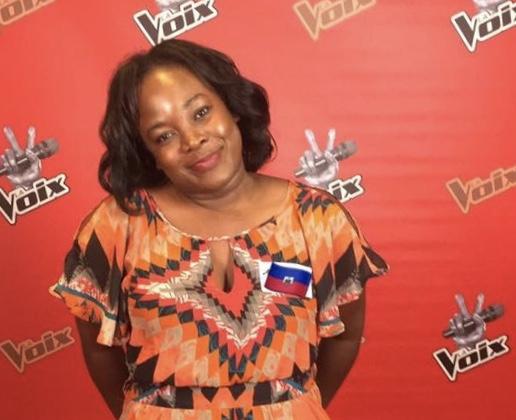 Ferline Régis, candidate haitienne de la 7e saison de The Voice, plus populaire concours de chantdu Canada./Photo: Compte Instagram de l'artiste.