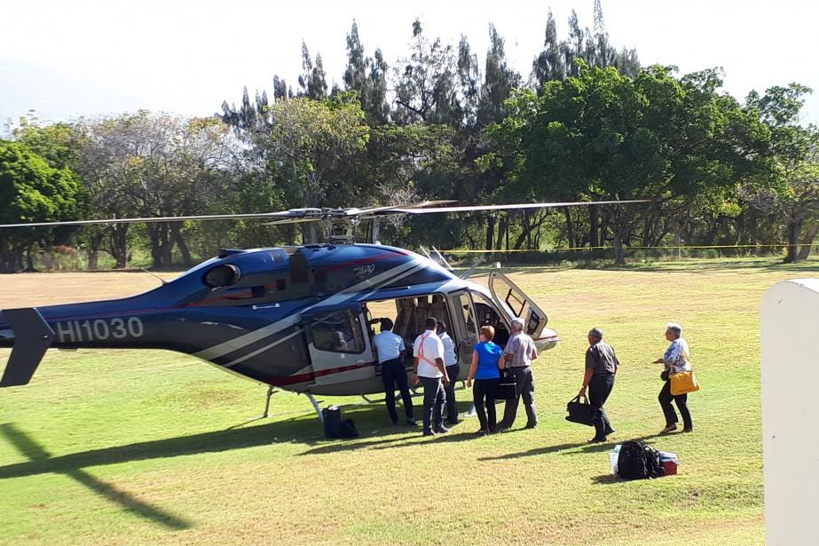 Le processus de rapatriement des Québécois bloqués en Haïti. Crédit Photo : La Presse.ca