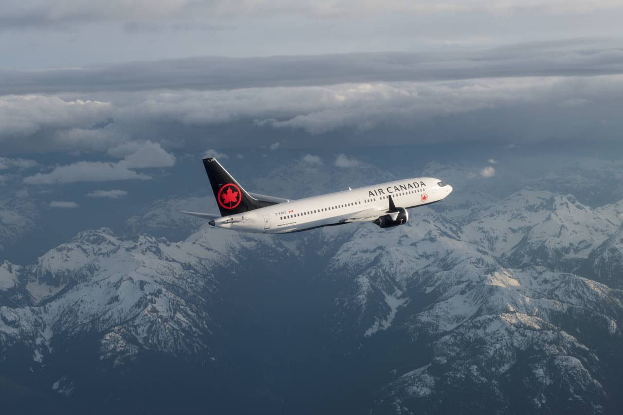 Vols d'Air Canada vers Haiti suspendus jusqu'au lundi 29 avril inclus./Photo: Compte Facebook Air Canada.