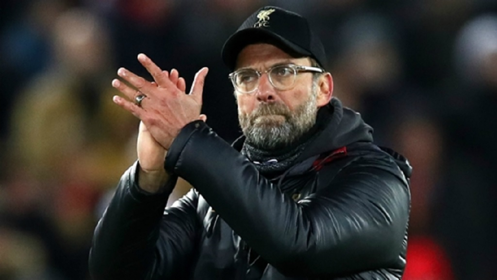 Liverpool boss Jurgen Klopp.