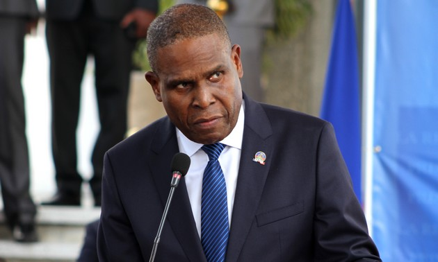 Le Premier Ministre Haïtien, Jean Henry Ceant