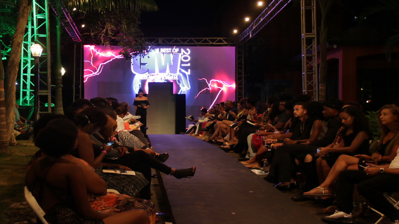 File photo of the catwalk at Pulse's Caribbean Fashion Week last year.