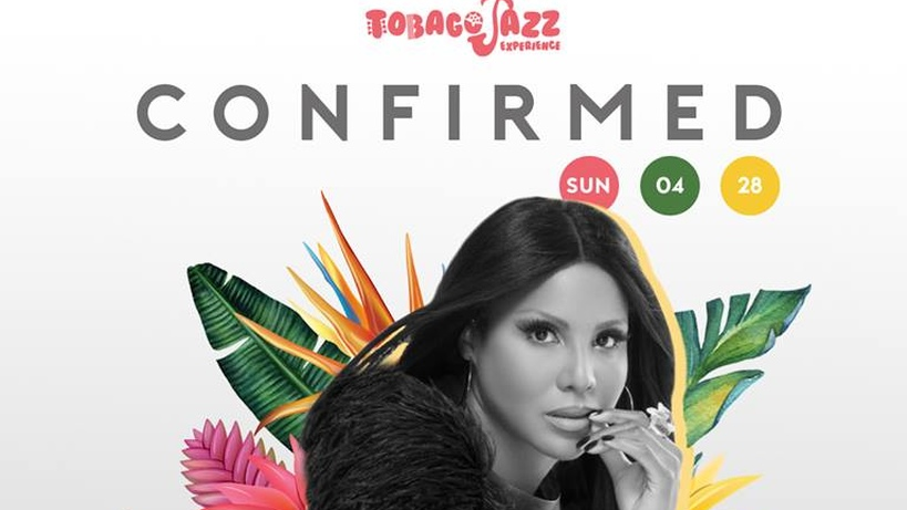 Toni Braxton will perform at the Tobago Jazz Experience on April 28.