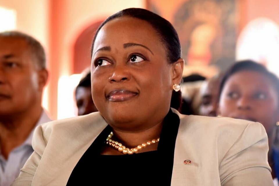 Dieudonne Luma Etienne, sénatrice de la 50e législature./Photo-Source: Loop Haiti.