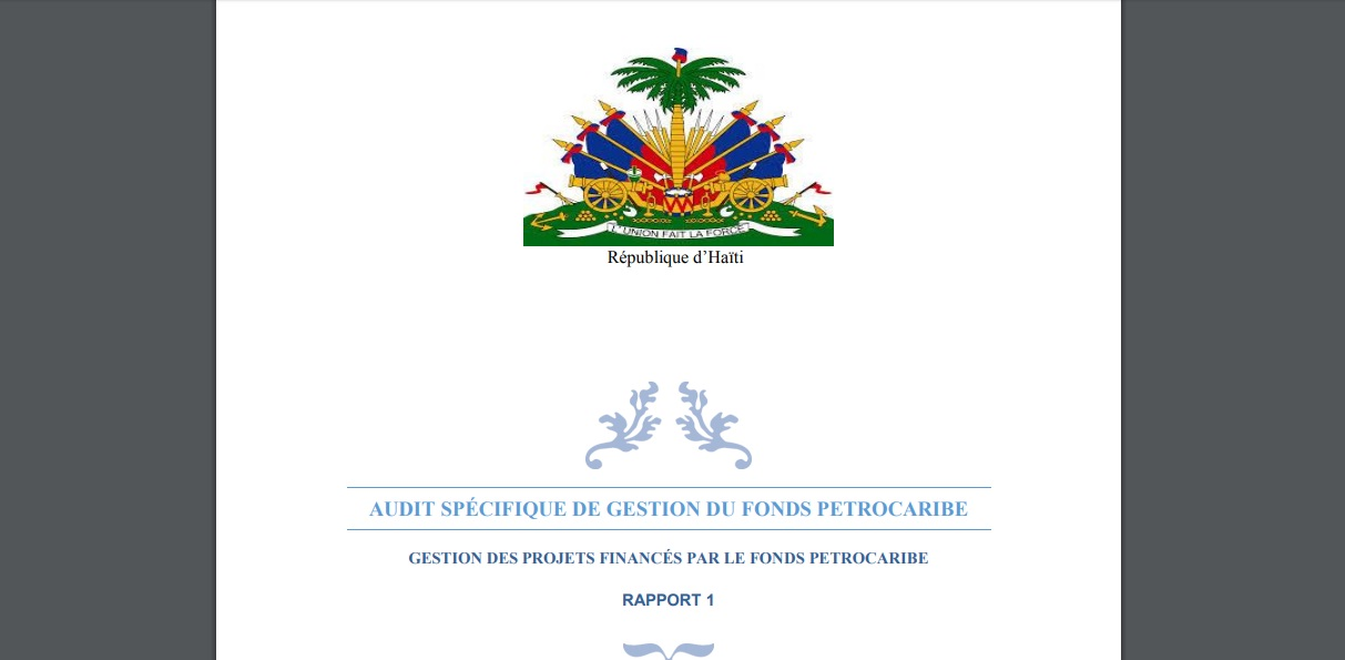 Le parquet de P-au-P remet officiellement le dossier Petrocaribe au cabinet d'instruction