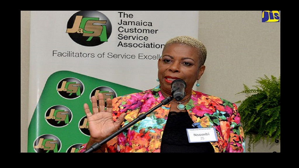 Dr. Nsombi Jaja, Chairman of the Jamaica Customer Service Association. (Photo via Jamaica Information Service)