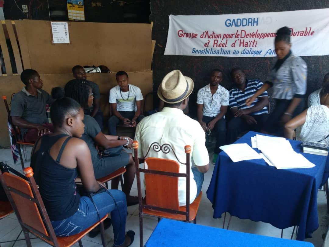 Lancement officiel du micro-projet de Sensibilisation au dialogue familial