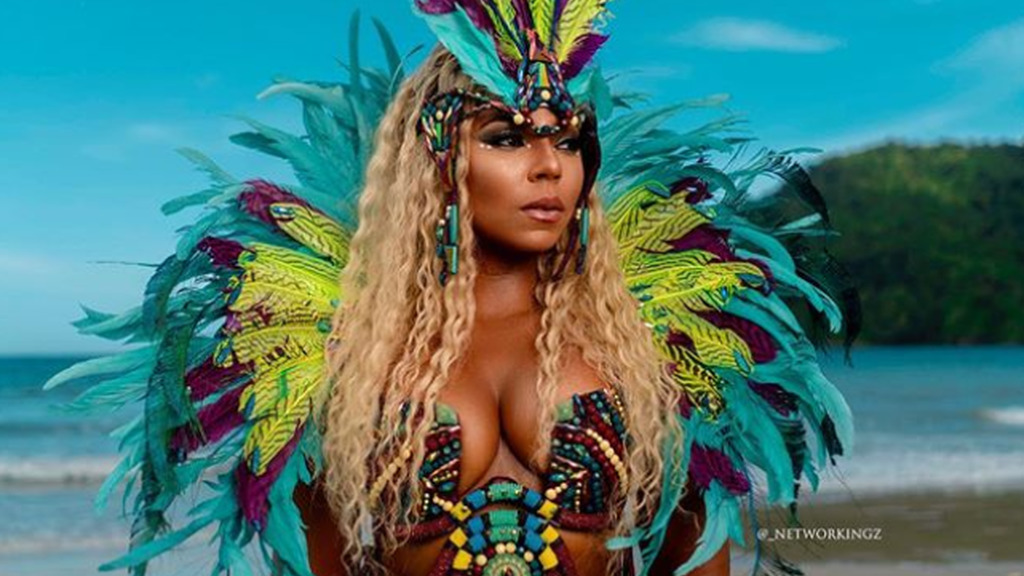 Ashanti will be one of the headliners at a concert celebrating St Maarten's Carnival 50th anniversary celebrations. Photo by  Networkingz taken from Ashanti's Instagram account.
