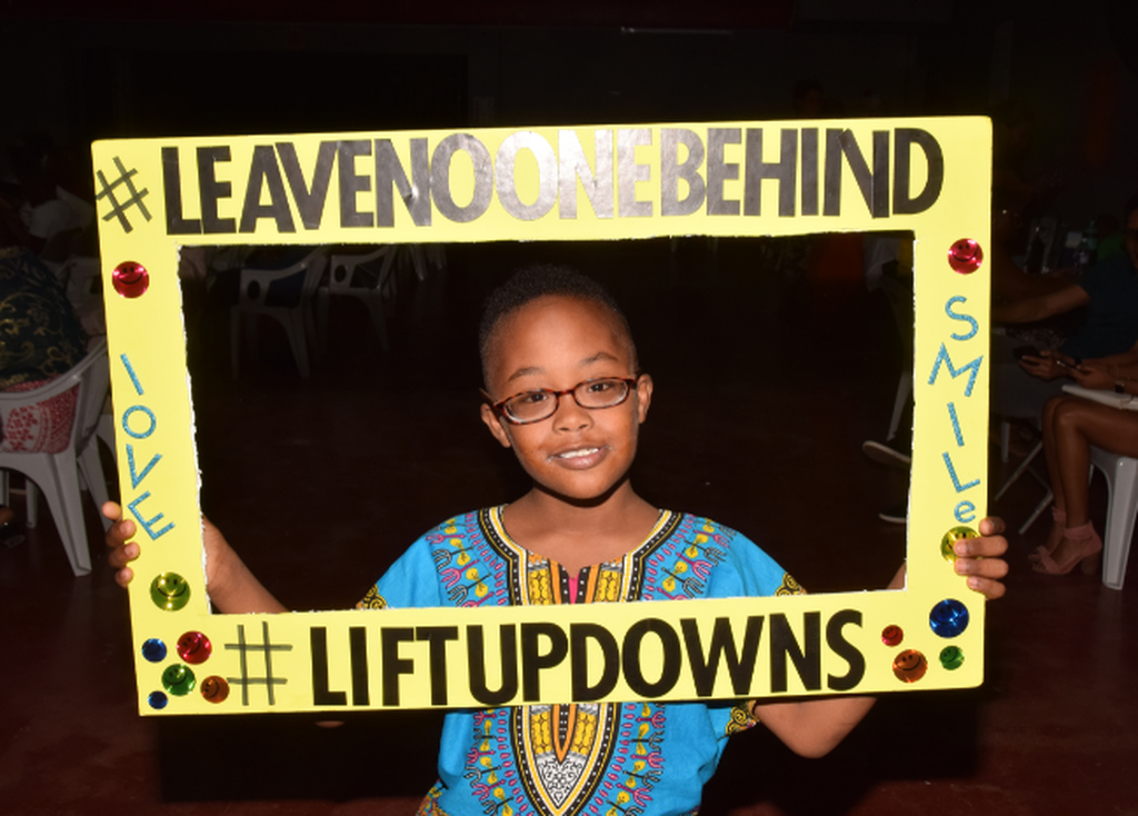 "This year's Down Syndrome Awareness Day was observed under the theme, ""Leave no one behind""."