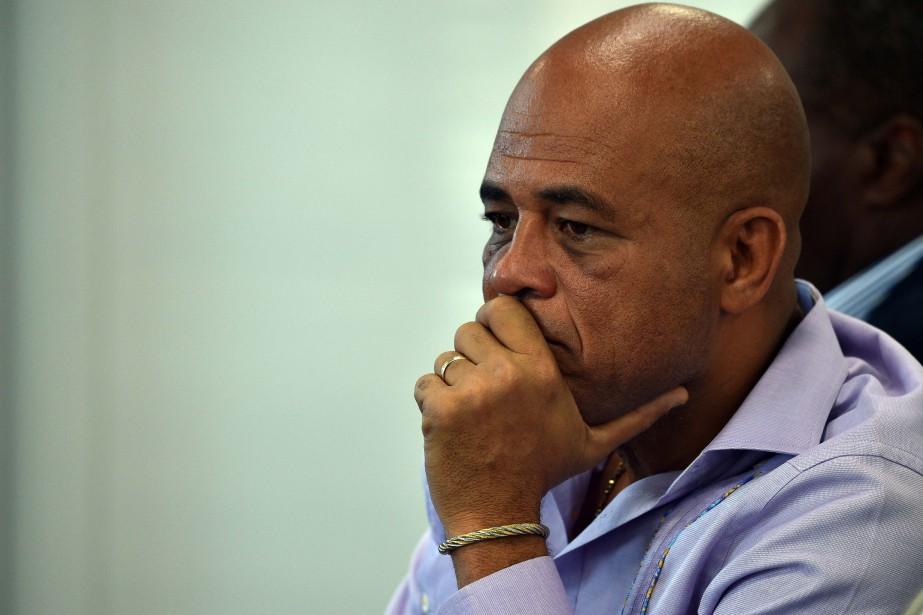L'ancien président Michel Joseph Martelly