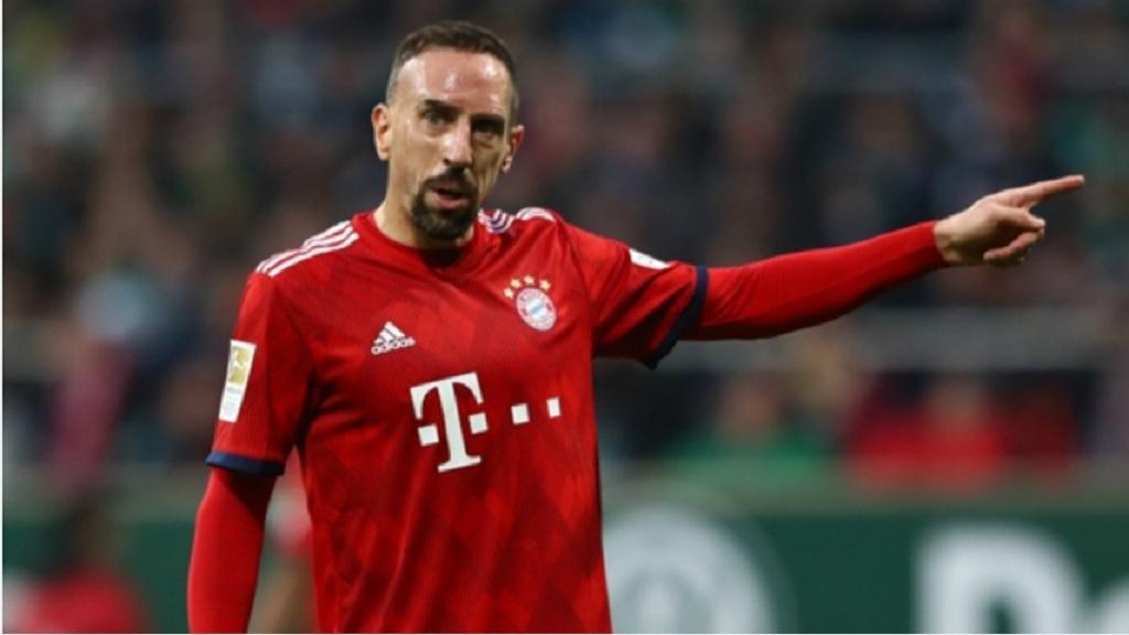 Bayern Munich winger Franck Ribery.