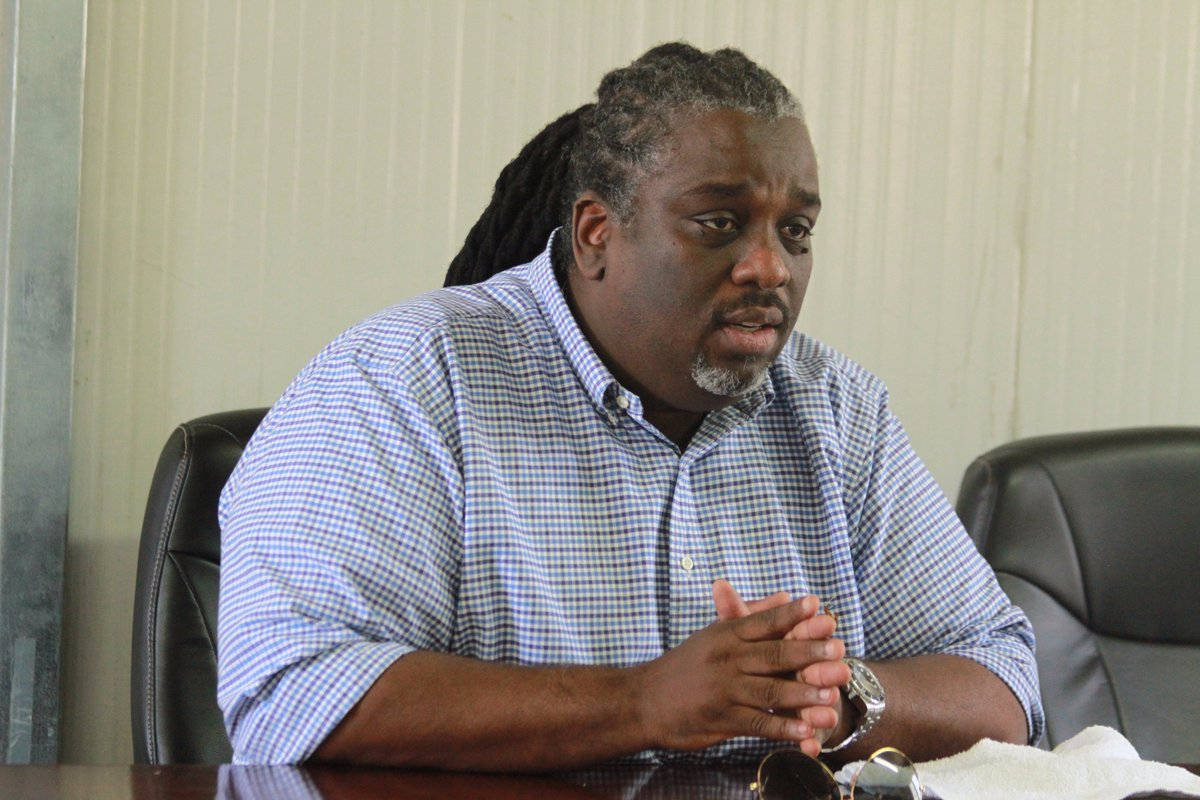 Le maire de Port-au-Prince, Youri Chevry