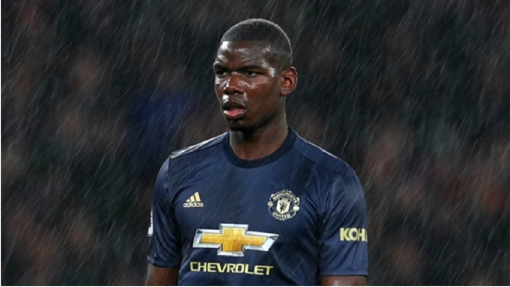 Manchester United and France star Paul Pogba.