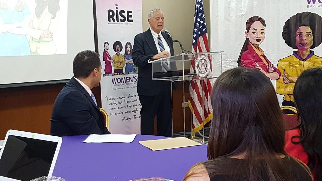 Photo: US Ambassador Joseph Mondello