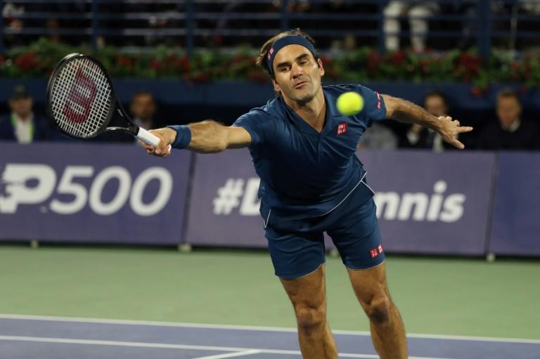 Le Suisse Roger Federer remporte à Dubaï le 100e titre de sa carrière le 2 mars 2019