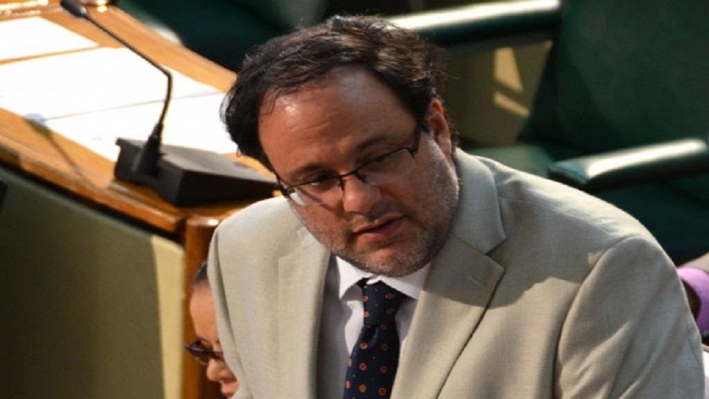 Opposition spokesman on finance, Mark Golding.