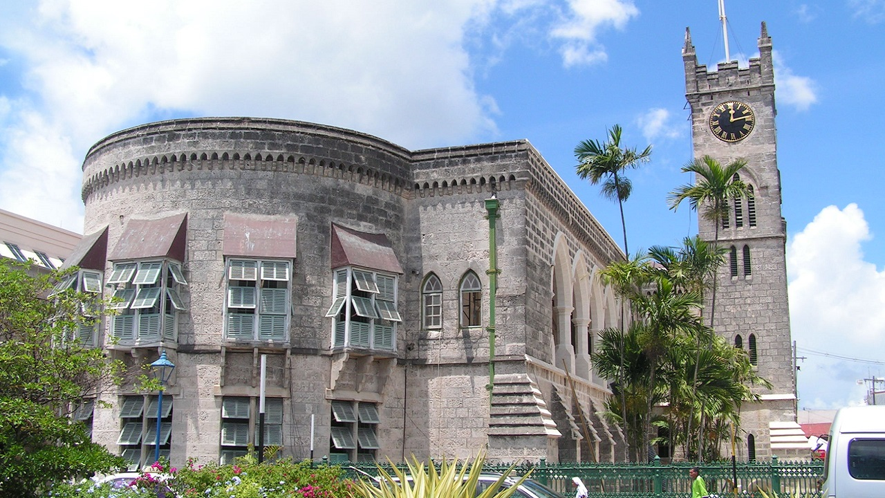 Parliament Buildings in Bridgetown (FILE)