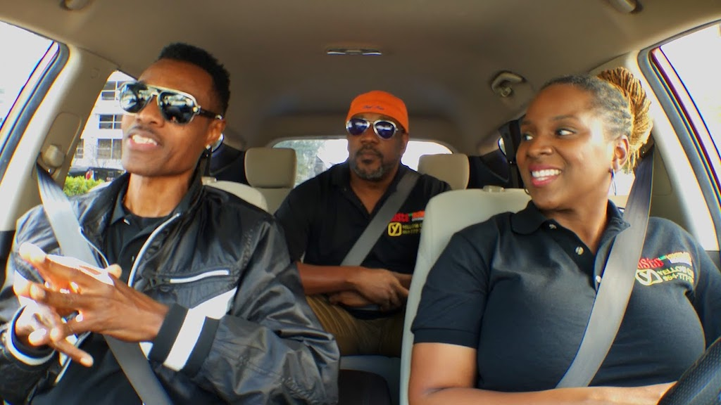 (From left) Singer Wayne Wonder, Chef Irie (Taste the Islands host), and Calibe Thompson (Taste the Islands producer and TTIX Yellow Cab Karaoke host).