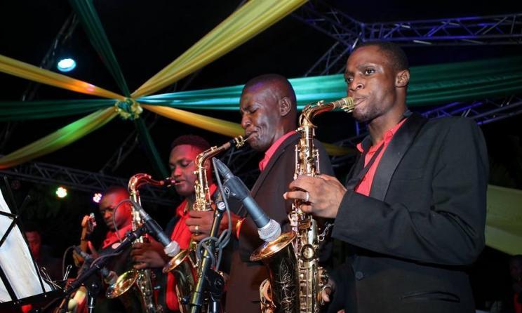 Des musiciens de l'orchestre Septentrional