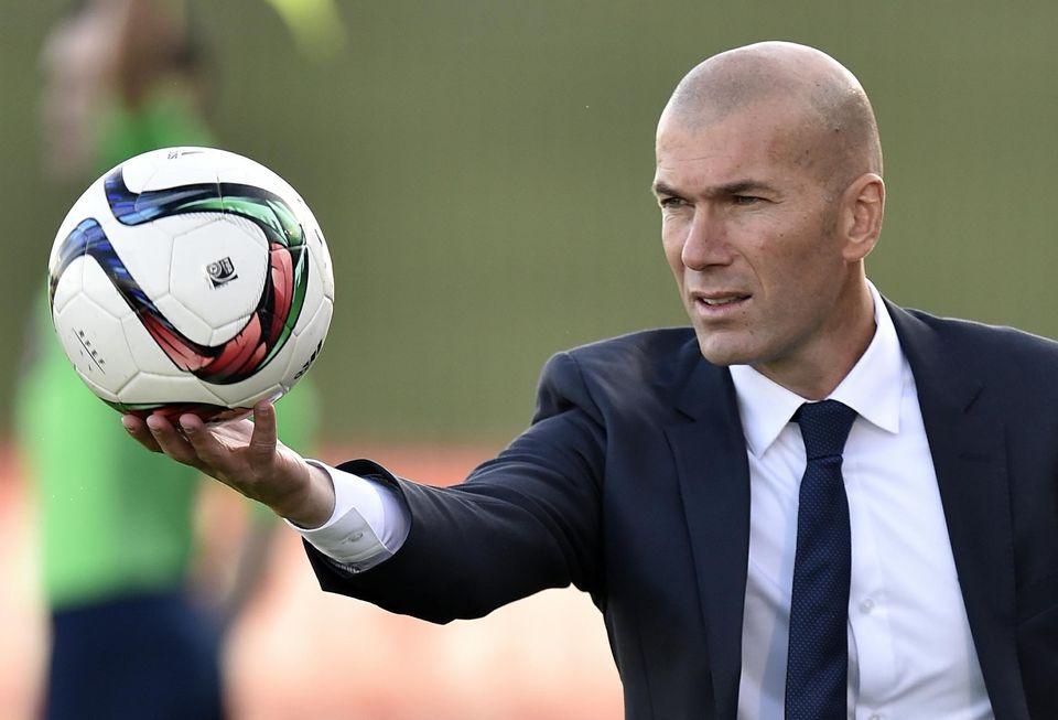 Zinédine Zidane, le 19 décembre à Valdebebas, dans la périphérie de Madrid. Gérard Julien. AFP