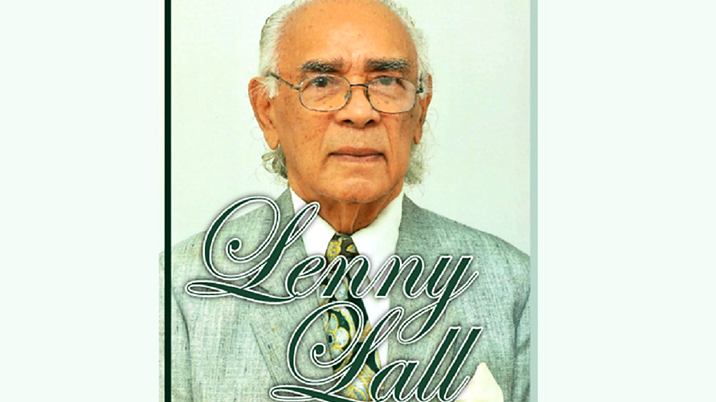 Photo: Lenny Lall, founder of Lensyl Products Limited. Photo via Facebook.
