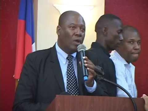 Patrick Crispin, conseiller du président Jovenel Moïse