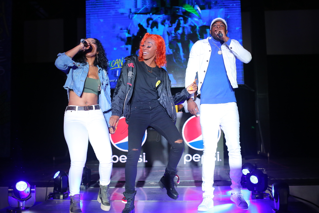 Ding Dong, Shenseea, and Desha Ravers lead a group of influential Jamaicans helping to spread Pepsi's youth empowerment message.
