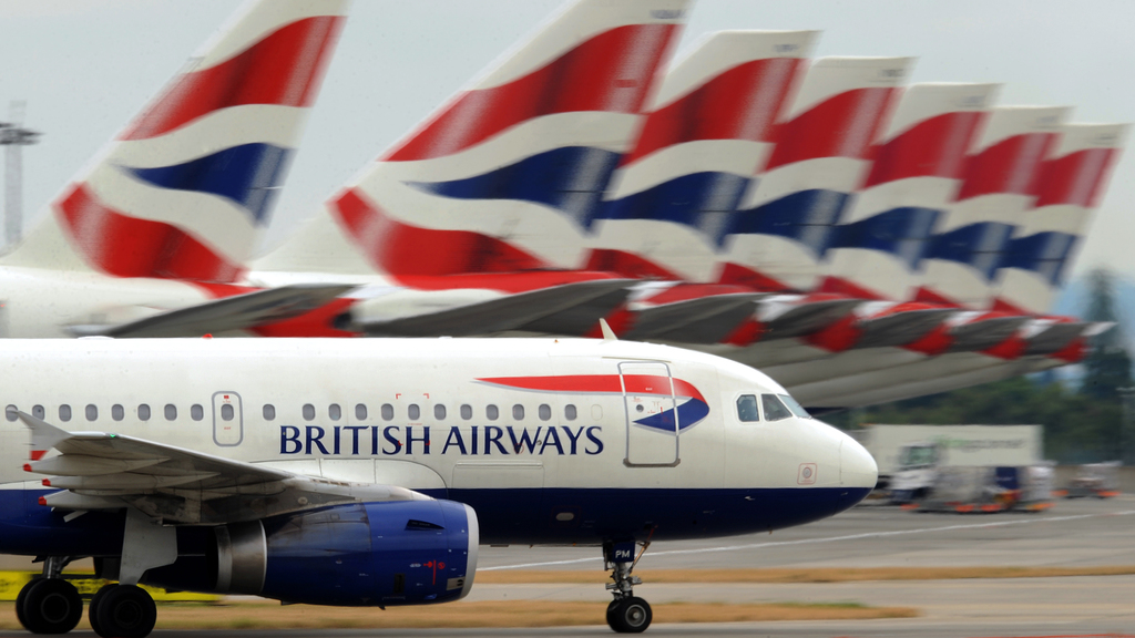 British Airways flight brings passengers to Scotland rather than Germany