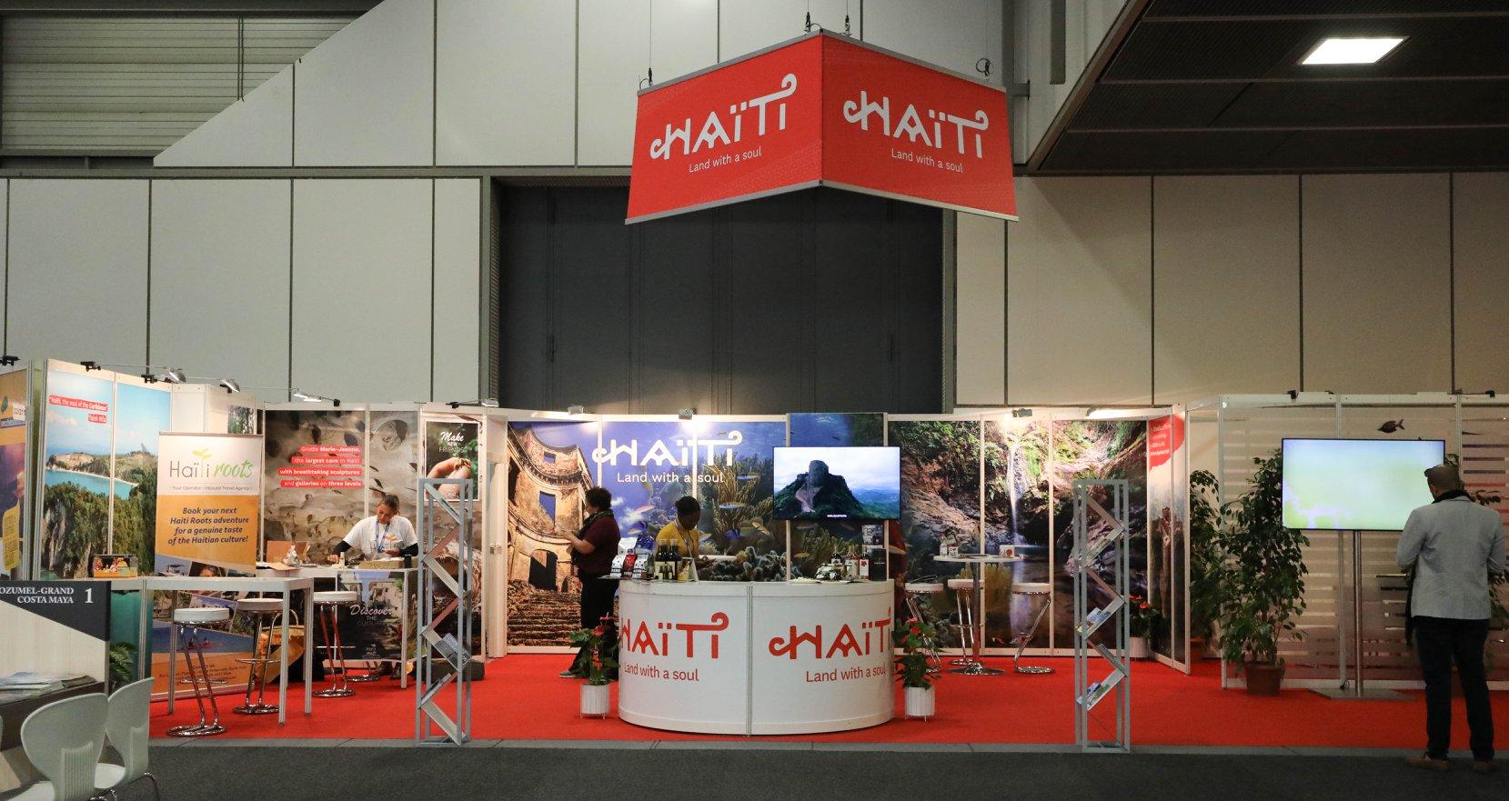Haiti représenté à la Bourse Internationale du Tourisme qui se déroule jusqu'au 10 mars à Berlin./Photo: MTIC