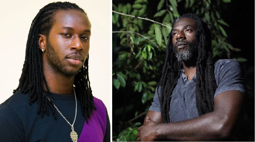 Markus Myrie (left) and Buju Banton