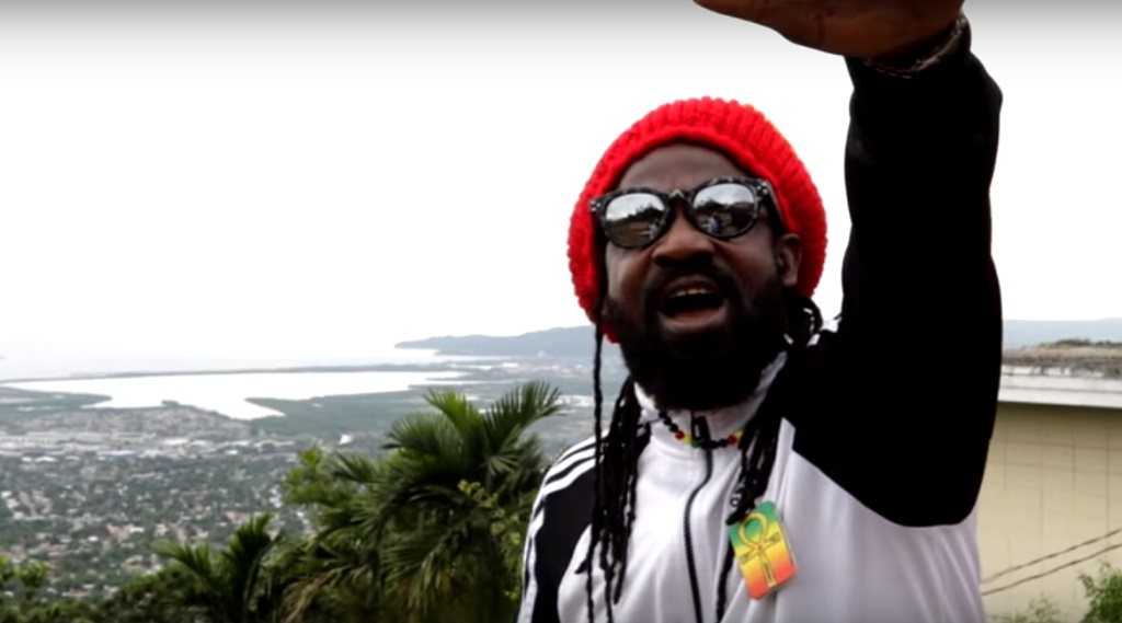 Fyah George in the video for his single, 'Love Of Jah'.