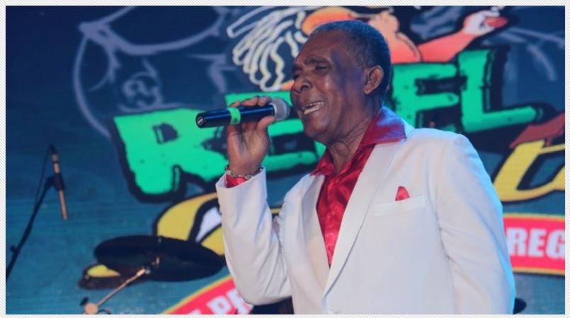 Ken Boothe was among the veteran singers who delivered excellent performances at Stars R Us. (File Photo)
