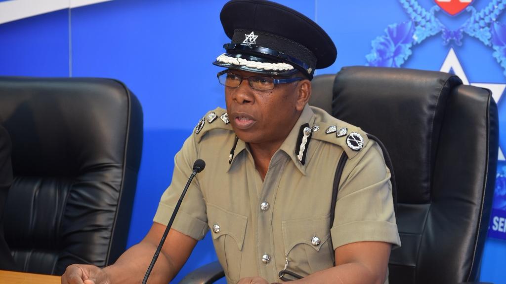 Former Police Commissioner Stephen Williams.